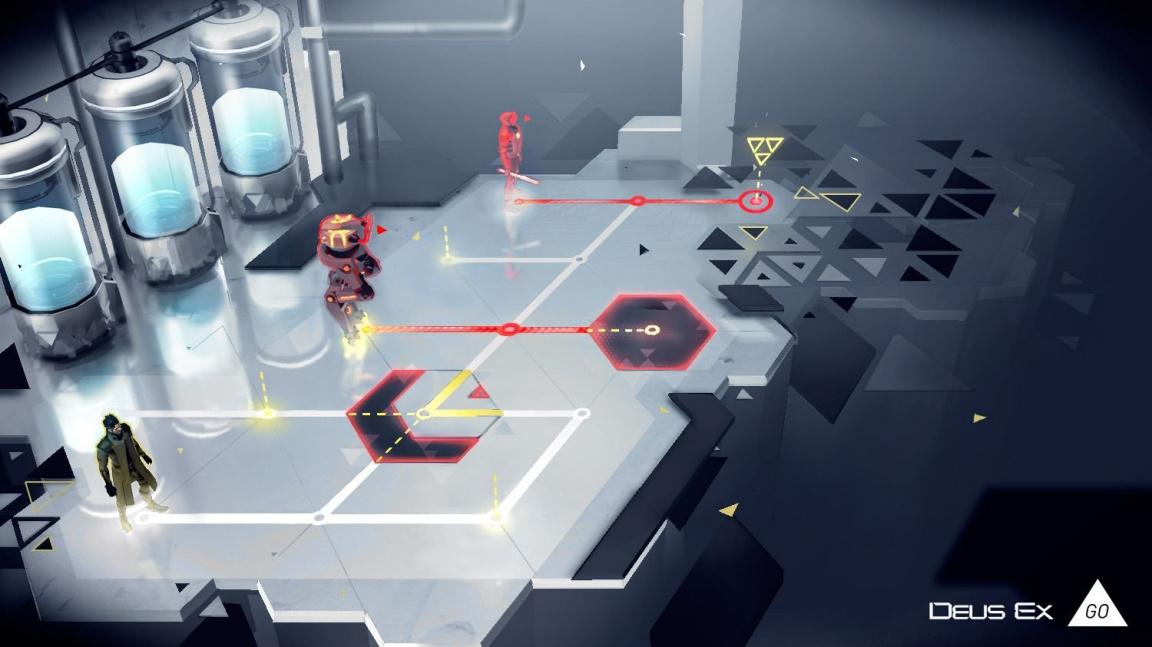 Deus Ex GO pokračuje v mobilních verzích známých sérií