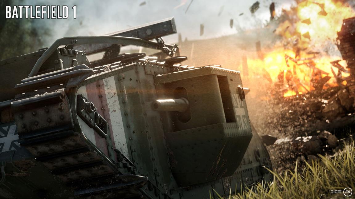 Čtvrthodinka z Battlefieldu 1 vypadá krásně, ale nezapře dědictví série
