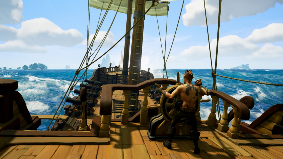 Pirátské Sea of Thieves nabídne prostor na tvorbu vlastního dobrodružství
