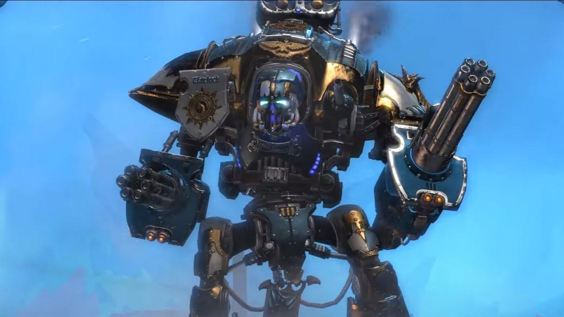 Prvním záběrům z hraní Dawn of War III dominuje majestátní Imperial Knight