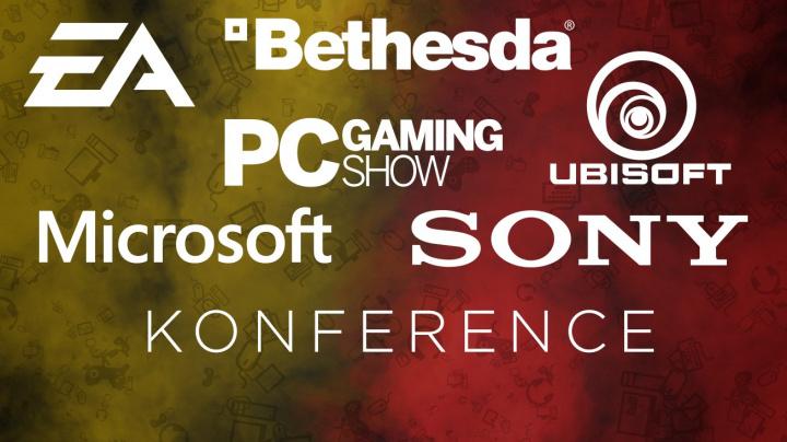 E3 2016: záznamy tiskových konferencí Sony, Microsoftu, EA, Bethesdy a Ubisoftu