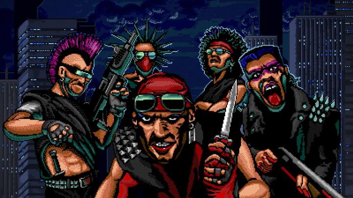 V retro akci Huntdown lovíte jako žoldnéři hlavy zločineckých gangů