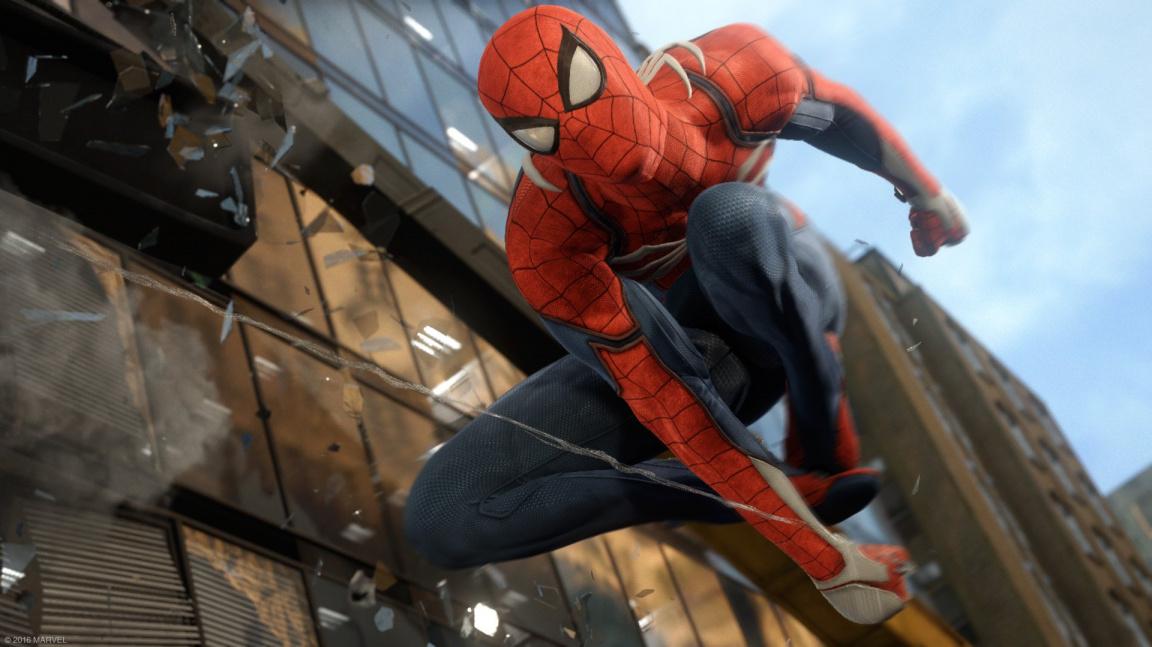 Spider-Man od Insomniacu nabídne otevřený svět a vlastní příběh