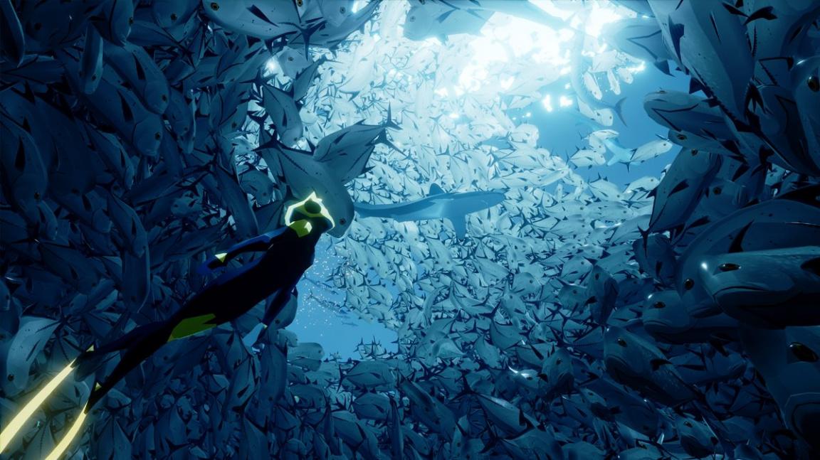Abzû vypadá jako nádherná podmořská meditace
