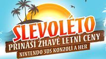 Slevoléto přináší žhavé letní ceny Nintendo 3DS konzolí a her