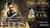 Xzone upgraduje všechny objednávky hry Deus Ex: Mankind Divided na Day One edici