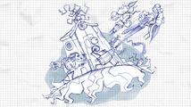 V ručně kreslené hopsačce Pengame zachraňujete poznámkový blok před Učitelem