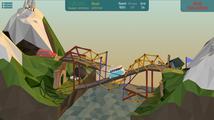 Stavitelská hra Poly Bridge opouští early access - prověří vaši schopnost navrhovat mosty