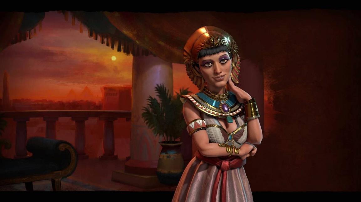 Egypťané v Civilization VI těží z řek a jsou z nich skvělí spojenci