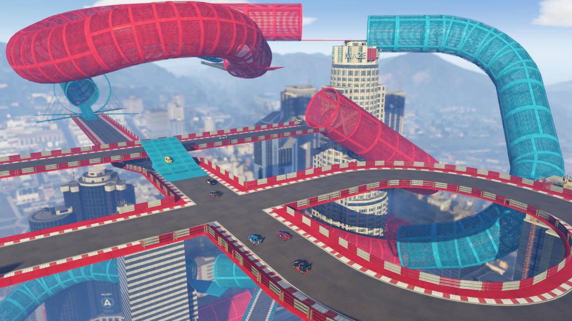 GTA Online se s přídavkem Cunning Stunts posune blíž k Trackmanii