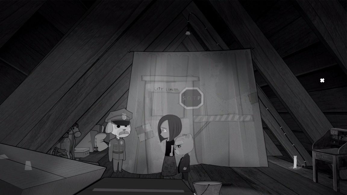 V noirové detektivce Bear With Me vyšetřujete případ ztraceného chlapce s pomocí plyšového medvěda