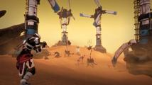 Sky Break je sci-fi survival o hledání léku na smrtící virus na planetě plné zdivočelých robotů