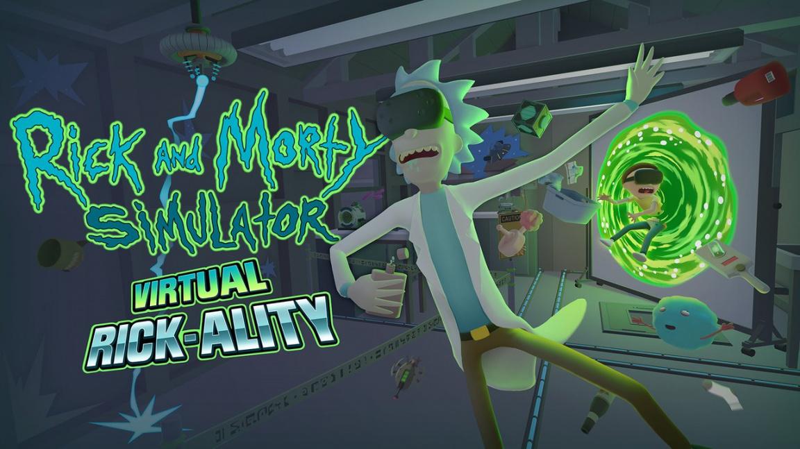 Populární seriál Rick and Morty se dočká herní adaptace pro virtuální realitu