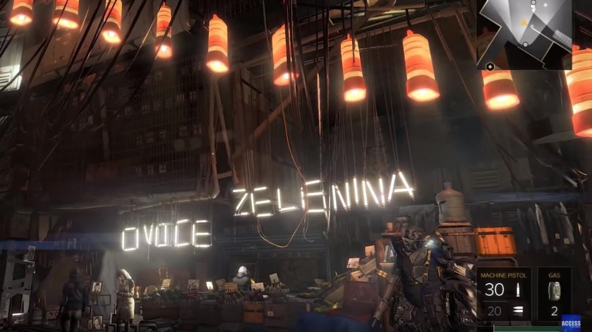 Výlet do pražského ghetta na záběrech videa z Deus Ex: Mankind Divided