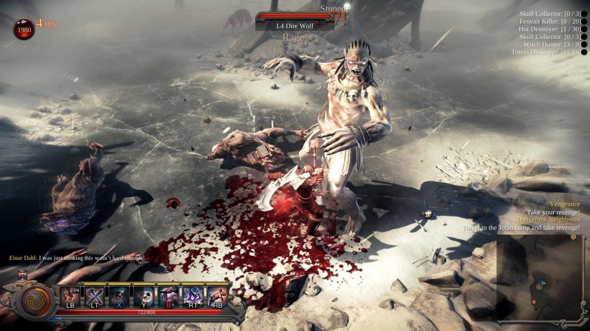 Slovenská RPG akce Vikings: Wolves of Midgard se ukazuje v prvním traileru