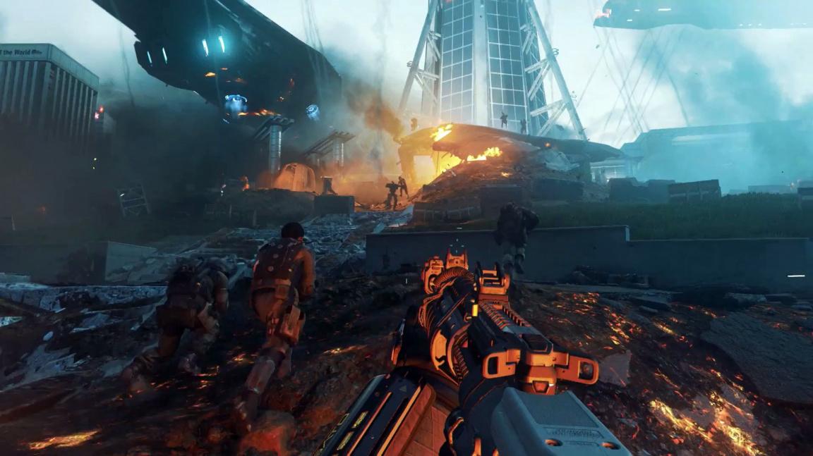 Video z úvodu kampaně Call of Duty: Infinite Warfare nabízí boj na zemi i ve vesmíru