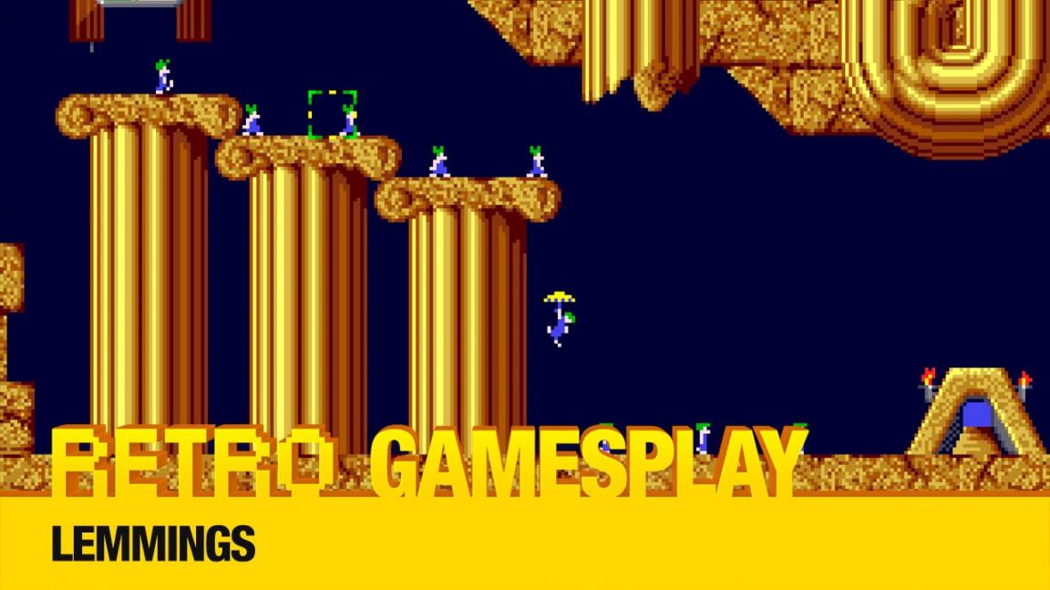 Retro GamesPlay: hrajeme legendární puzzle plošinovku Lemmings