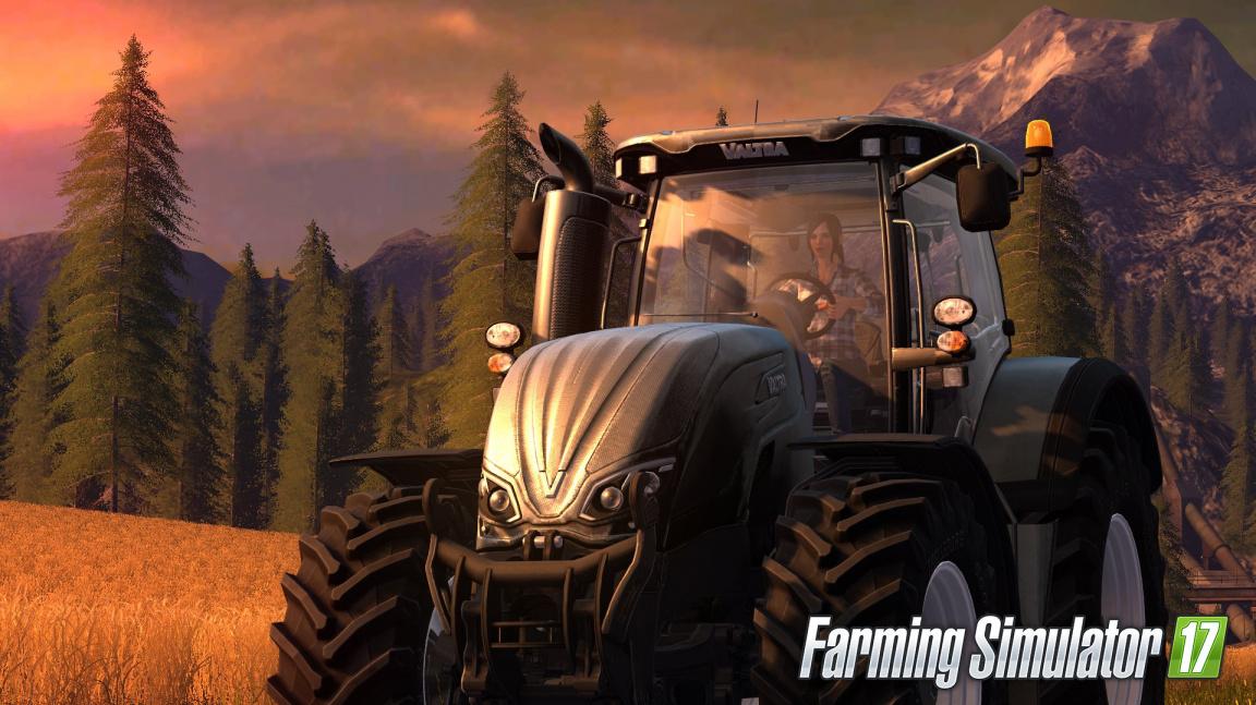 Farming Simulator 17 na prvních záběrech z hraní ukazuje nové stroje a slunečnice