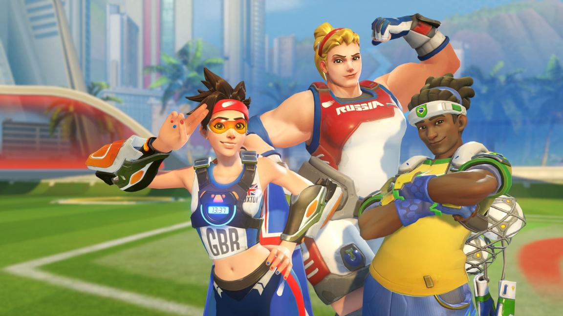 Overwatch oslavuje olympijské hry fotbalovým módem a novým obsahem