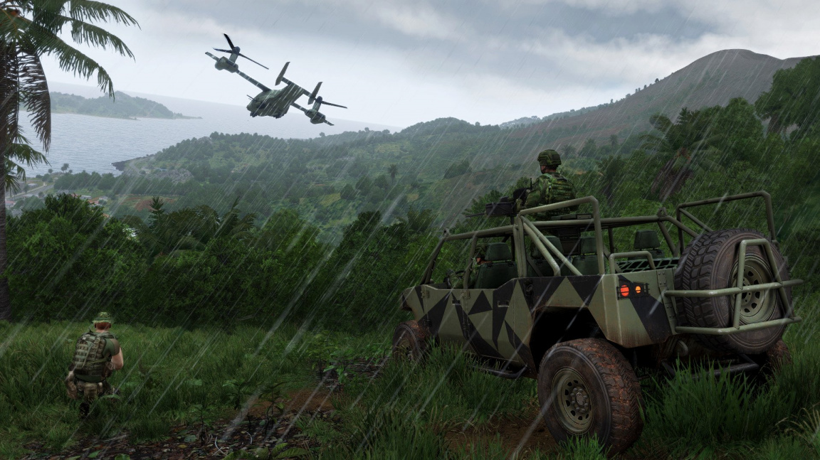 Arma 3 čeká do roku 2018 minimálně 5 DLC a řada updatů