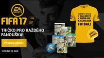 Získejte stylové tričko k předobjednávce FIFA 17 na Xzone.cz!