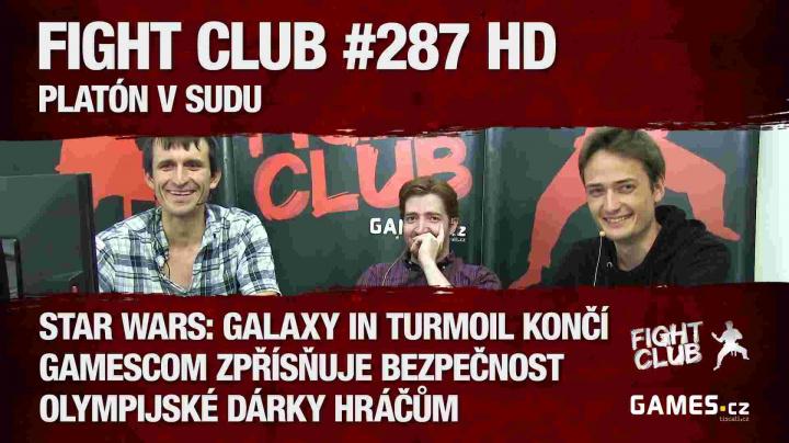 Fight Club #287: Platón v sudu