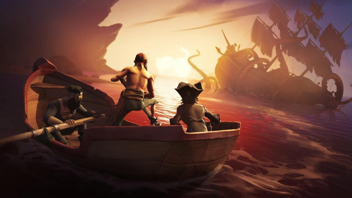 Pirátské dobrodružství Sea of Thieves chystá koncem ledna uzavřenou betu