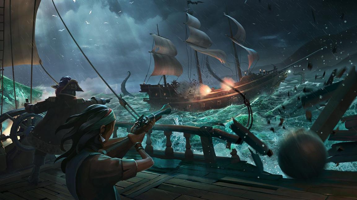 Multiplayer v Sea of Thieves propojí komunitu na počítačích a konzolích