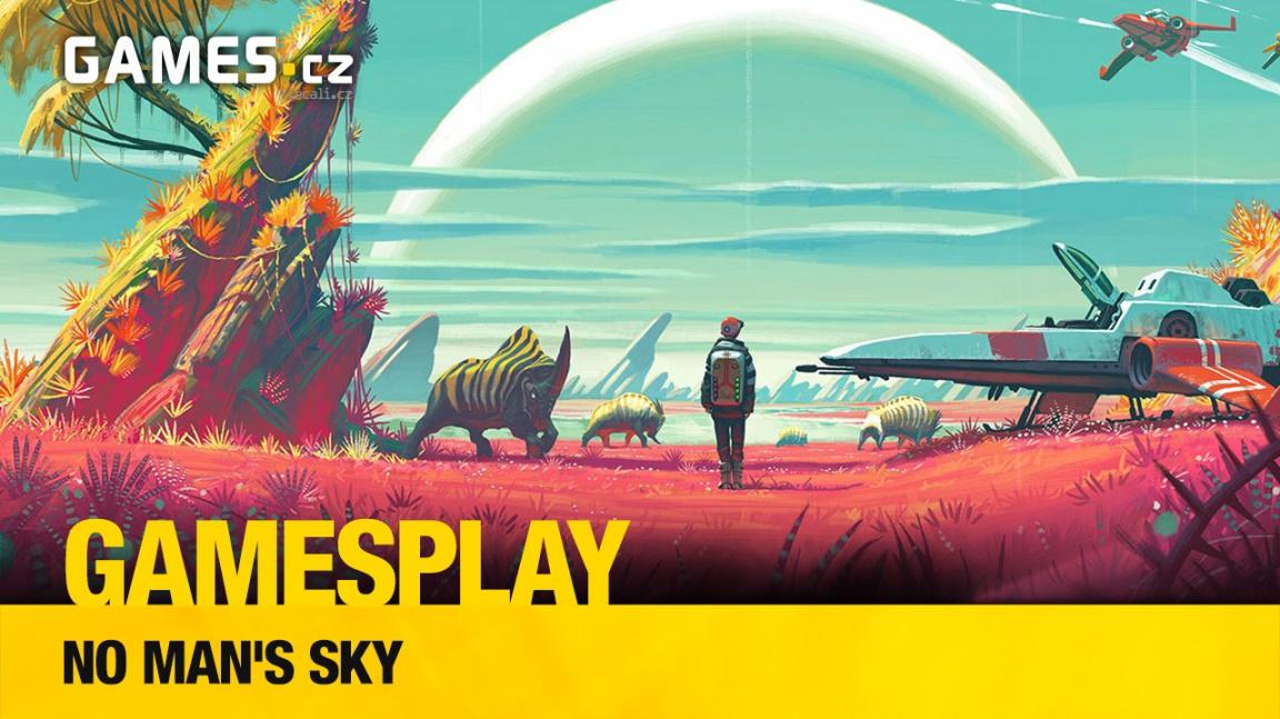 GamesPlay: hrajeme vesmírný survival No Man's Sky
