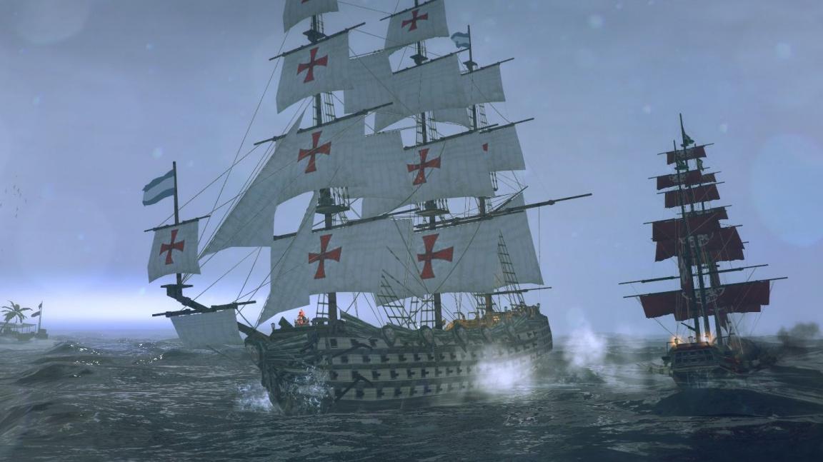Vyšla pirátská akce Tempest – krom ovládání lodi nabídne i krakeny a meteority