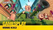 GamesPlay: hrajeme červí masakr Worms W.M.D