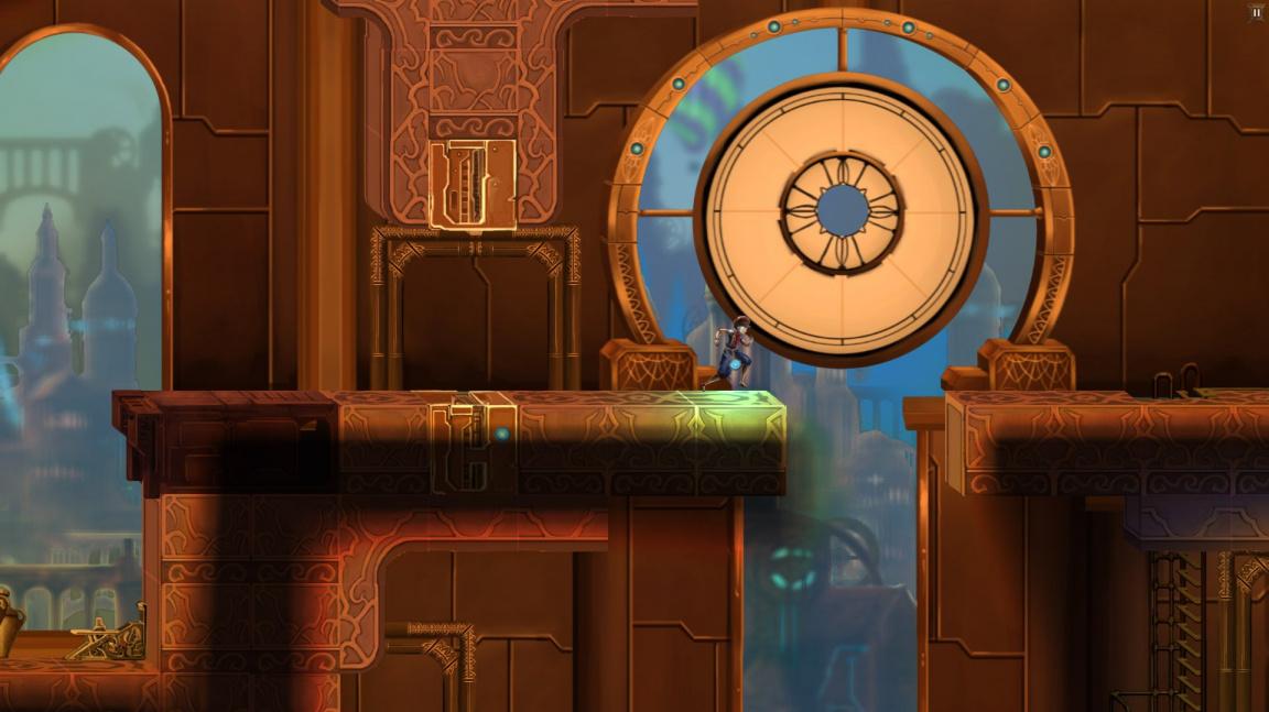 Akční plošinovka ClockWork předvádí svoji puzzle stránku při manipulaci s časem