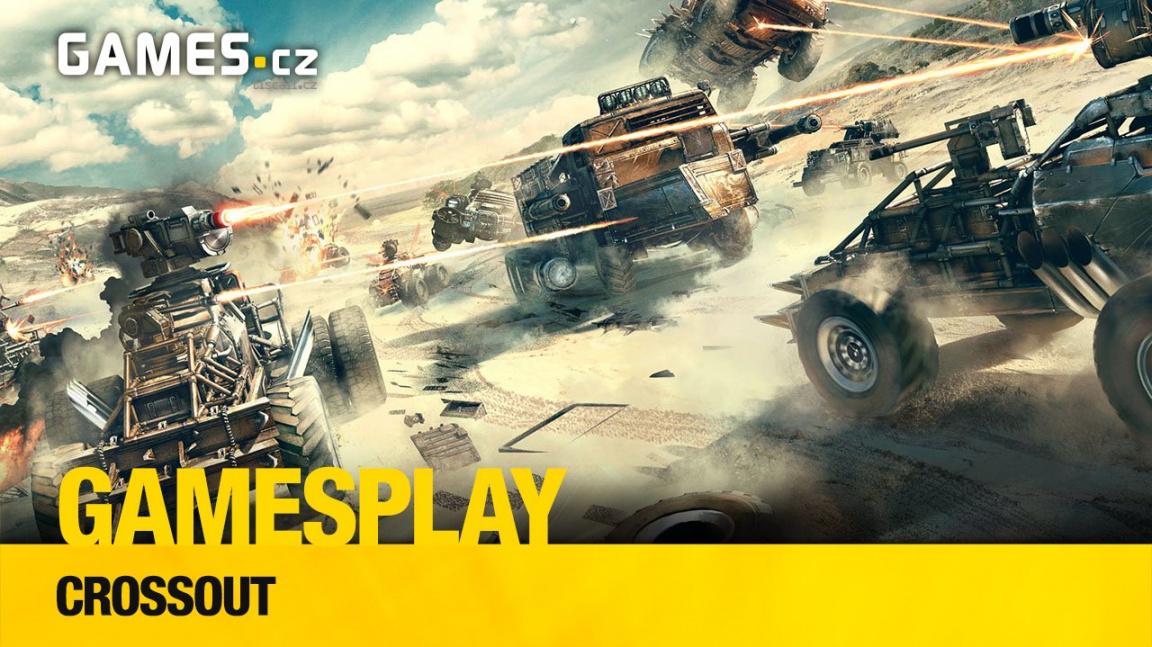 GamesPlay: hrajeme postapo akci s vozidly Crossout