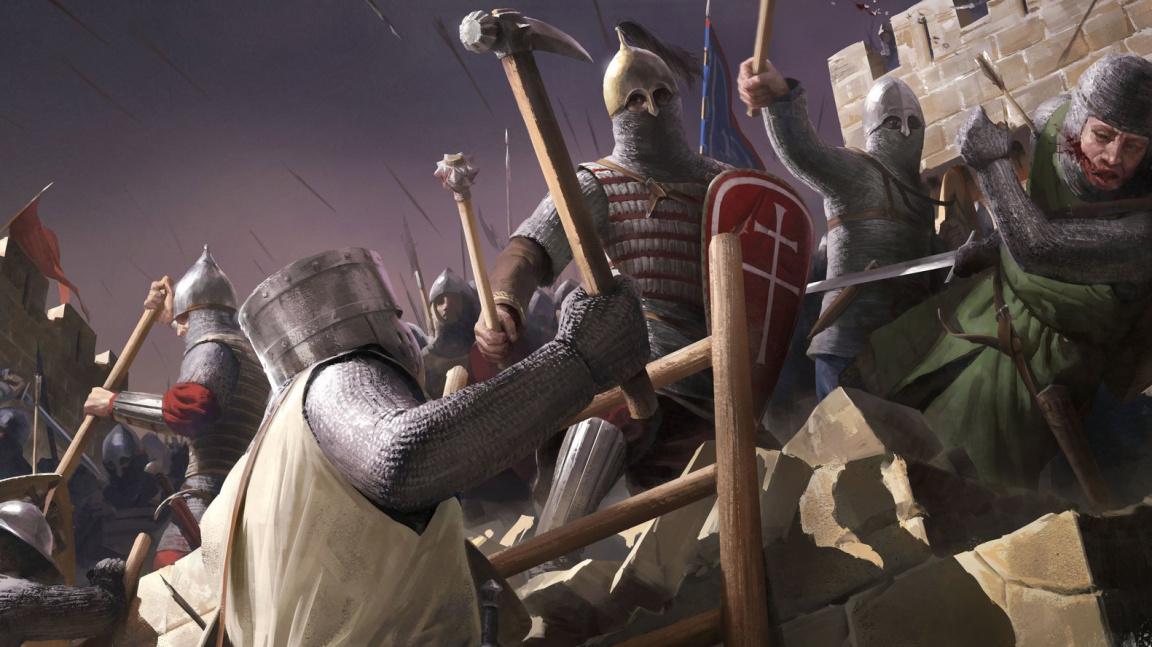 Dojmy z hraní: Of Kings and Men baví soubojovým systémem a bitvami stovek hráčů