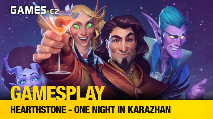 GamesPlay: hrajeme Hearthstone adventure One Night in Karazhan