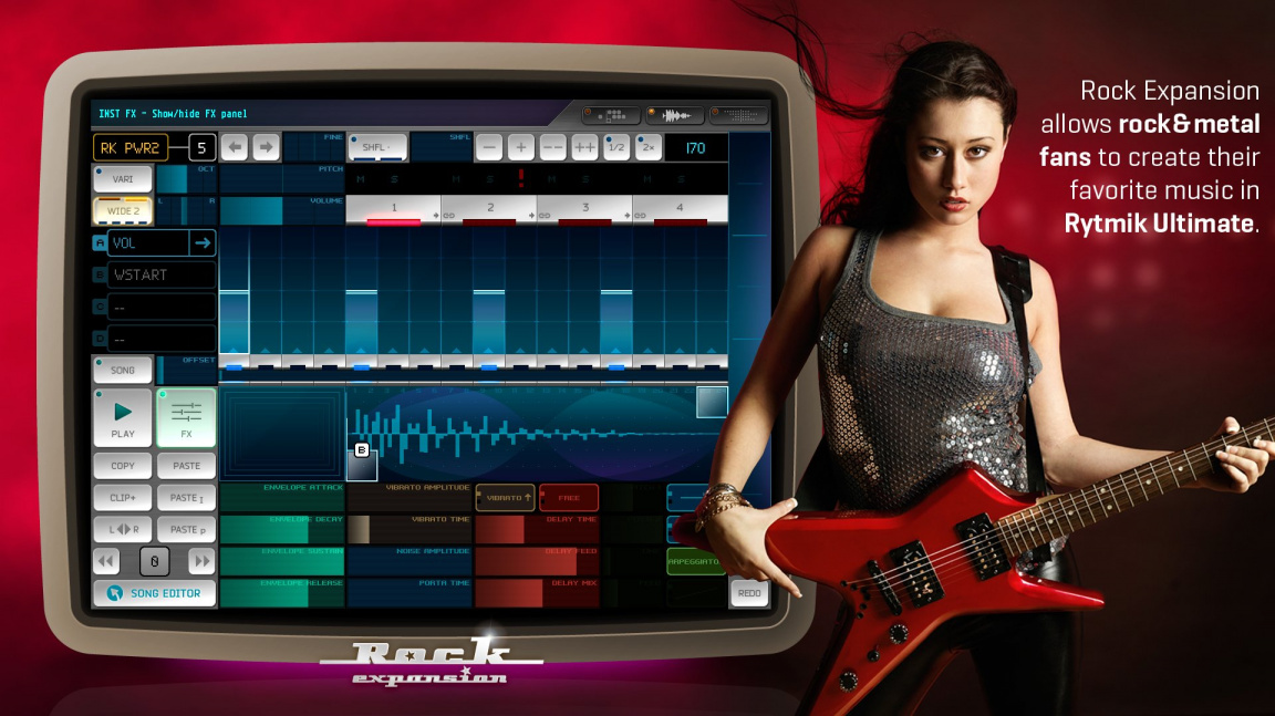 Cinemax brzy vydá DLC pro Rytmik Ultimate, které umožní skládat rockové a metalové skladby