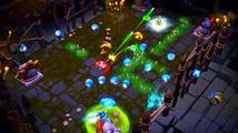 Mlátička Super Dungeon Bros nabízí kooperační multiplayer čtyř roztomilých metalistů