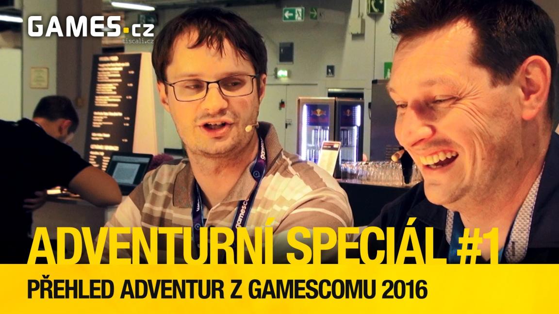 Adventurní speciál #1: Přehled adventur z Gamescomu 2016