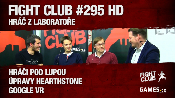 Fight Club #295 HD: Hráč z laboratoře