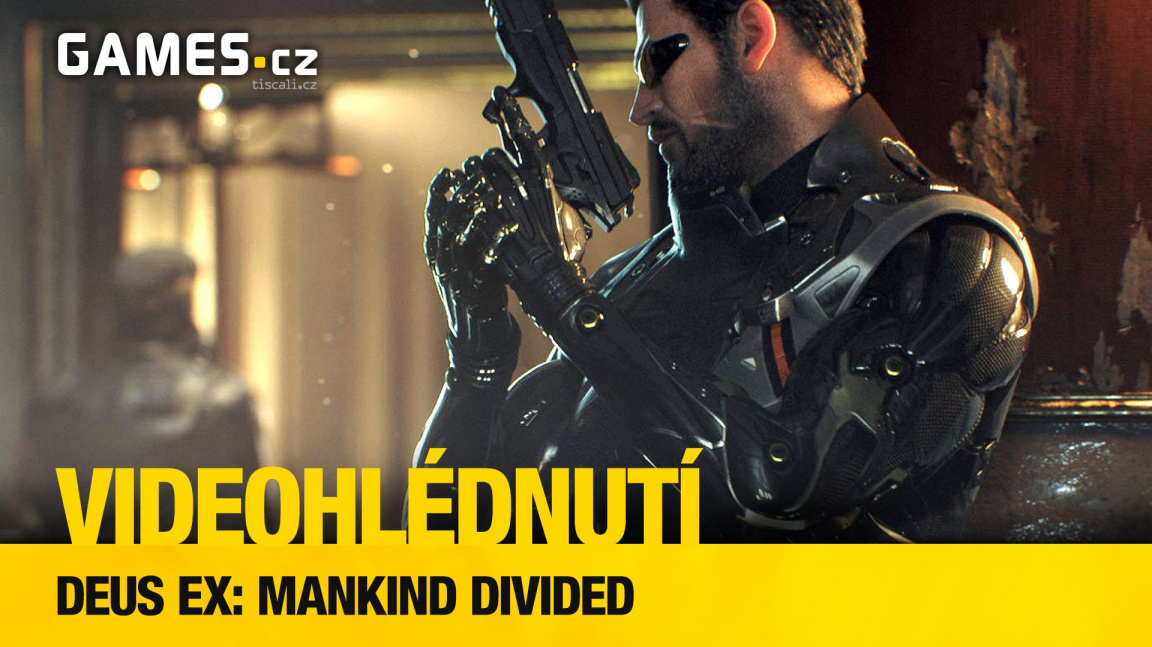 Deus Ex: Mankind Divided - videohlédnutí