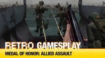 Retro GamesPlay: hrajeme válečnou střílečku Medal of Honor: Allied Assault