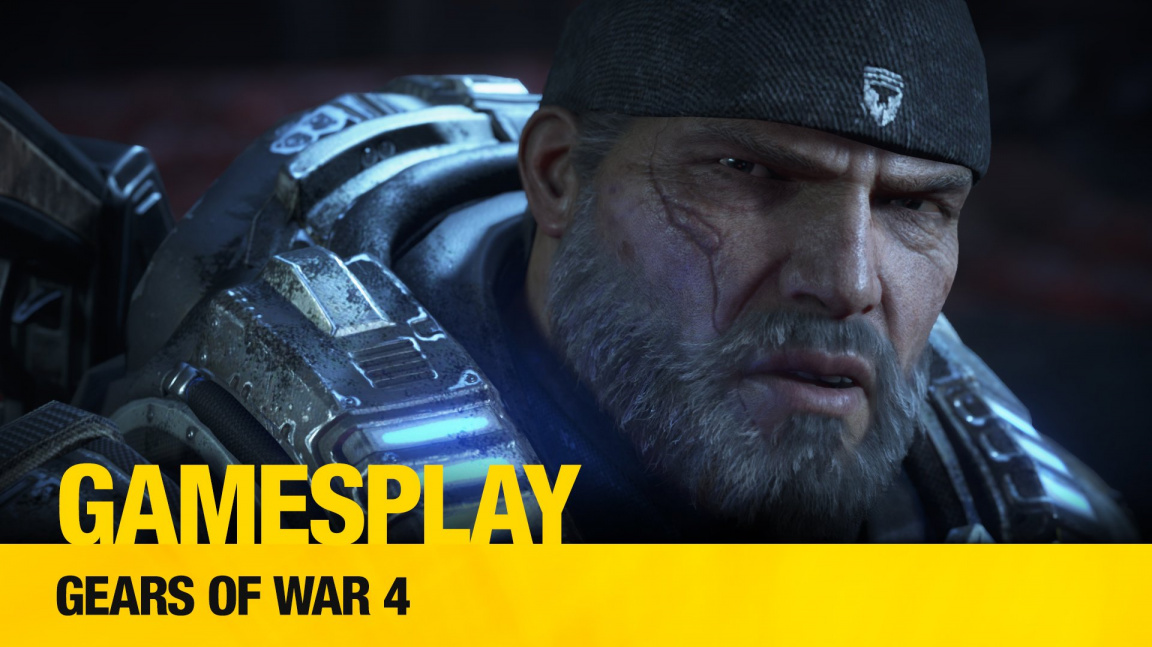 GamesPlay: hrajeme PC verzi Gears of War 4