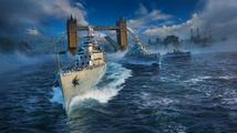 Do World of Warships vplouvají britské křižníky