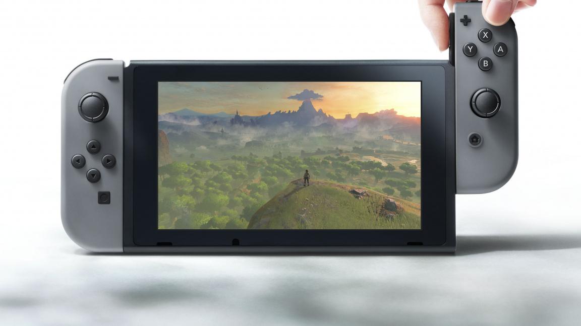 Nintendo Switch je kombinace konzole a handheldu s procesorem NVIDIA Tegra - vyjde v březnu 2017