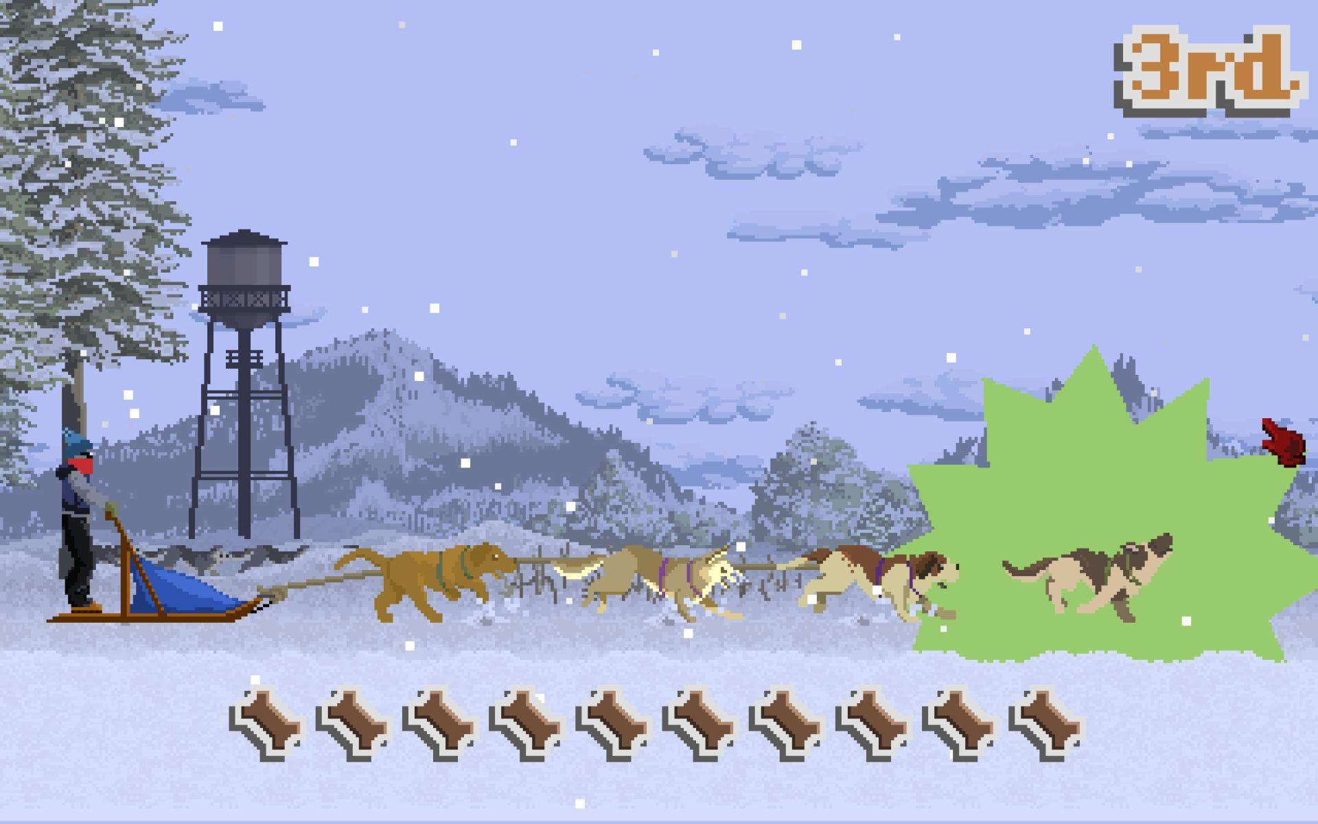 dog sled saga - HD1920×1200