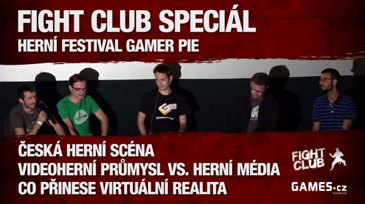 Fight Club Speciál z herního festivalu Gamer Pie