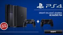 Získejte ke konzoli PlayStation 4 druhý ovladač zdarma!