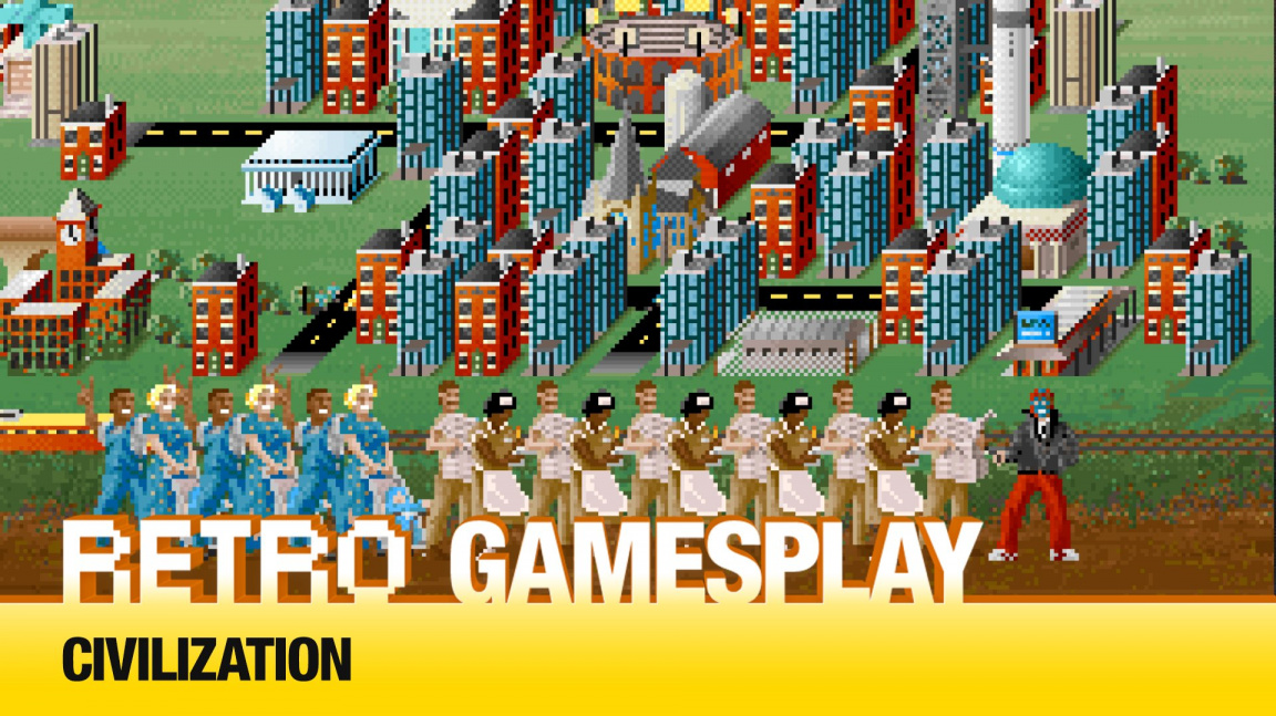 Retro Gamesplay: hrajeme kultovní strategii Civilization
