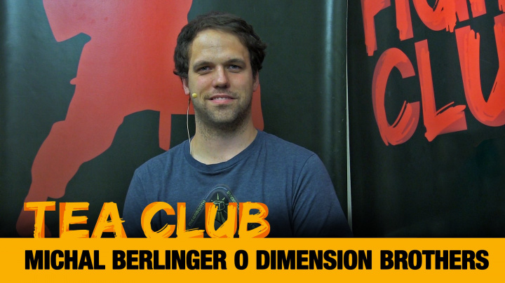 Tea Club #25: Michal Berlinger o Dimension Brothers