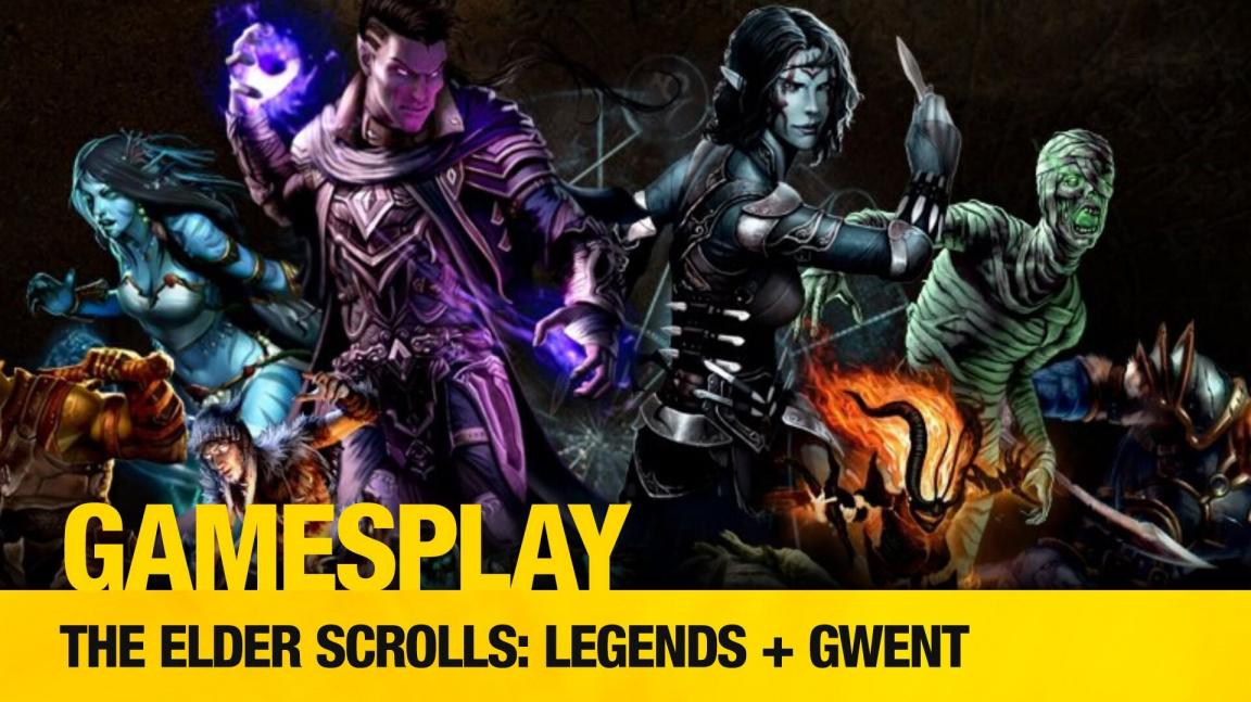 Čtenářský GamesPlay: The Elder Scrolls: Legends + Gwent (po updatu)
